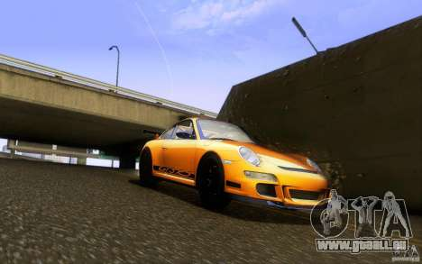 Porsche 911 GT3 RS pour GTA San Andreas vue intérieure