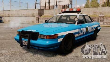 Une nouvelle voiture de Police pour GTA 4