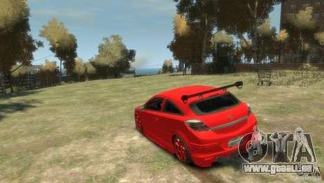 Opel Astra pour GTA 4 est un droit