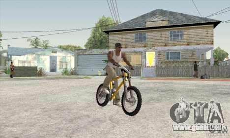 Downhill Bike pour GTA San Andreas laissé vue