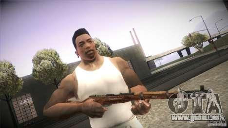 Weapon Pack by GVC Team pour GTA San Andreas neuvième écran