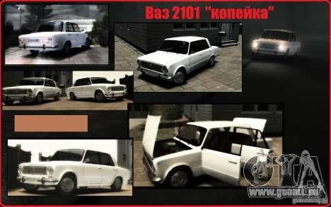 VAZ 2101 KOPEKEN für GTA 4