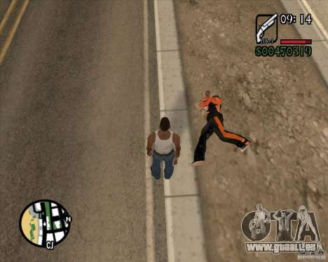 Endorphin Mod v.3 für GTA San Andreas siebten Screenshot