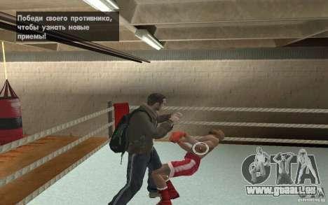 Das System kämpft von GTA IV V 3.0 für GTA San Andreas dritten Screenshot