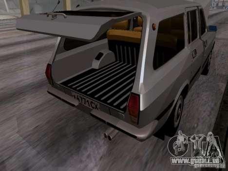 GAZ 24-12 SL Volga pour GTA San Andreas vue intérieure