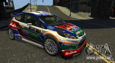 Ford Fiesta RS WRC pour GTA 4