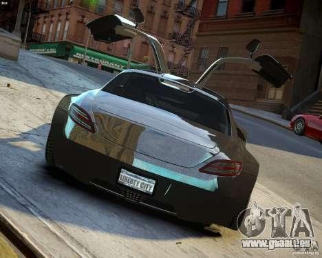Mercedes SLS Extreme für GTA 4 Seitenansicht