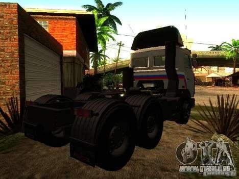 MAZ 642205 v1.0 pour GTA San Andreas vue de droite