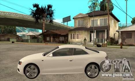 Audi S5 2008 für GTA San Andreas linke Ansicht