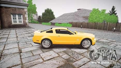 Shelby GT 500 KR 2008 K.I.T.T. pour GTA 4 est une vue de l'intérieur