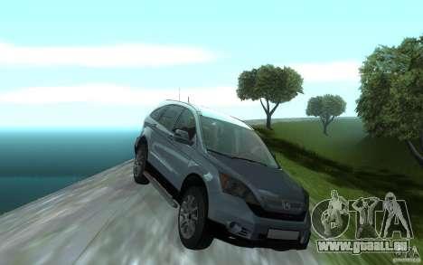 Honda CR-V für GTA San Andreas Innenansicht