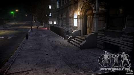 Mid ENBSeries By batter pour GTA 4 Vue arrière de la gauche