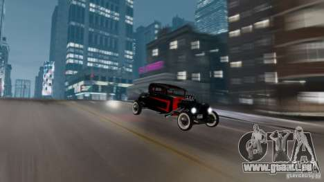 Smith 34 Hot Rod für GTA 4 Rückansicht