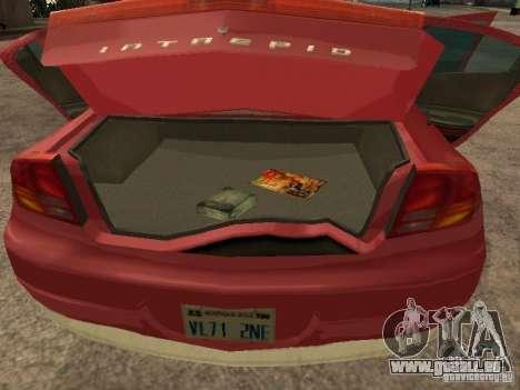 Dodge Intrepid pour GTA San Andreas vue de droite