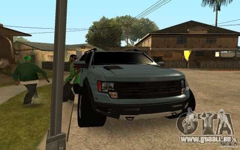 Ford Velociraptor pour GTA San Andreas laissé vue