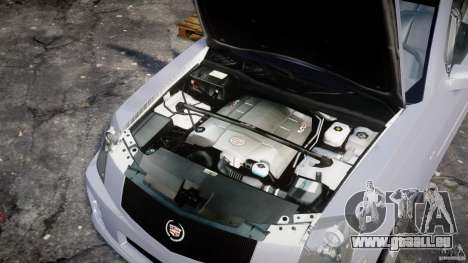 Cadillac CTS pour GTA 4 est un droit