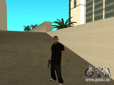 Black Rifa SkinPack pour GTA San Andreas deuxième écran