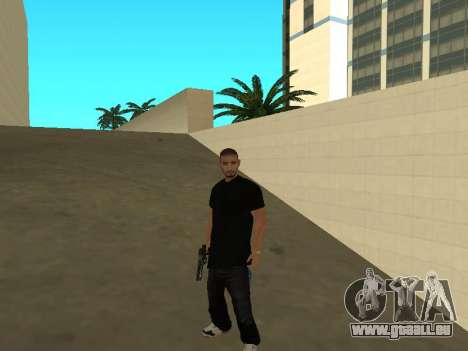 Black Rifa SkinPack für GTA San Andreas zweiten Screenshot