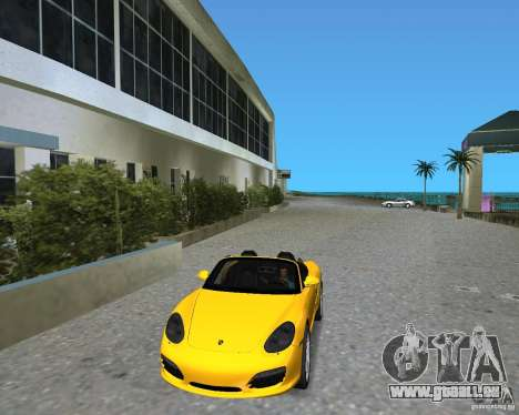 Porsche Boxster 2010 für GTA Vice City