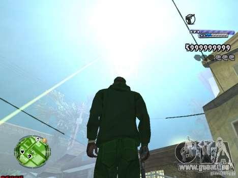 C-HUD v2.0 pour GTA San Andreas deuxième écran