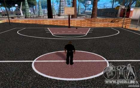 Dem neuen Basketballplatz für GTA San Andreas her Screenshot