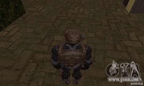 Crysis NanoSuit für GTA San Andreas dritten Screenshot
