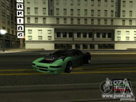 Teal Infernus pour GTA San Andreas
