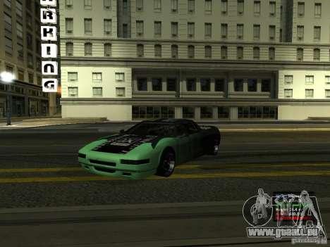 Teal Infernus für GTA San Andreas