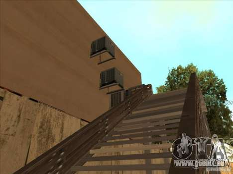 Karte für Parkour und bmx für GTA San Andreas dritten Screenshot