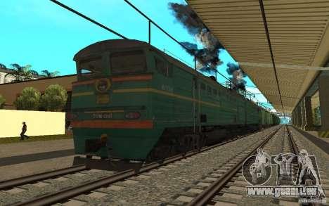 Eisenbahn mod II für GTA San Andreas sechsten Screenshot
