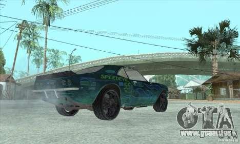 Speedevil von FlatOut für GTA San Andreas Seitenansicht
