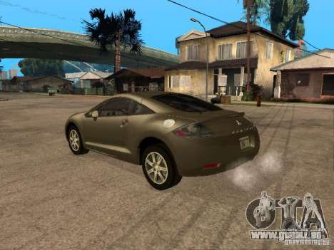 Mitsubishi Eclipse für GTA San Andreas linke Ansicht