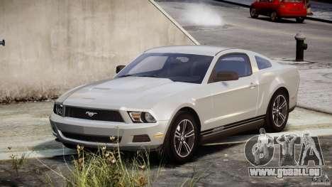 Ford Mustang V6 2010 Premium v1.0 pour GTA 4