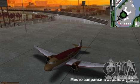 Essence capteur unique pour GTA San Andreas sixième écran
