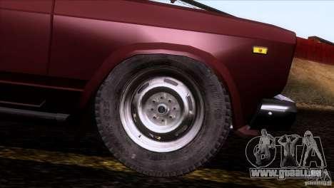 IZH 27175 pour GTA San Andreas vue de côté