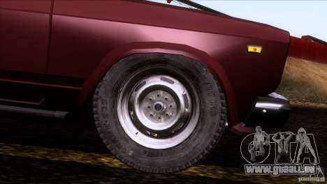 IZH 27175 pour GTA San Andreas roue