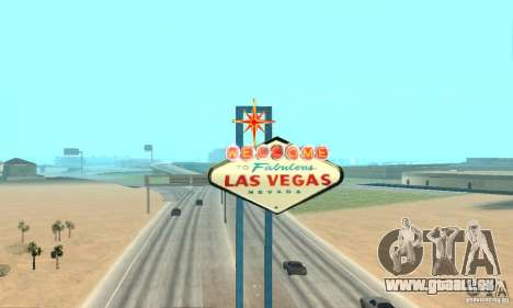 Welcome to Las Vegas für GTA San Andreas her Screenshot