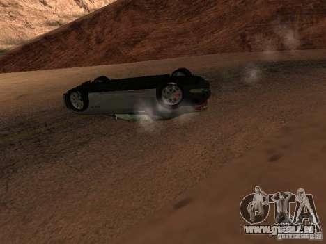 Umgestürzten Autos brennen nicht für GTA San Andreas siebten Screenshot