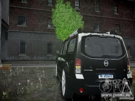 Nissan Pathfinder 2010 für GTA 4 hinten links Ansicht