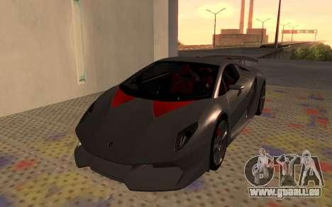 Lamborghini Sesto Elemento 2011 pour GTA San Andreas