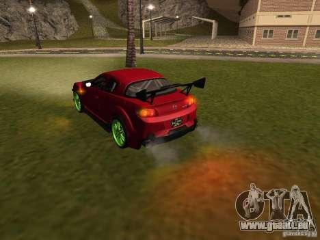 Mazda RX-8 R3 Tuned 2011 für GTA San Andreas Motor