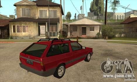 VW Parati GL 1994 für GTA San Andreas rechten Ansicht