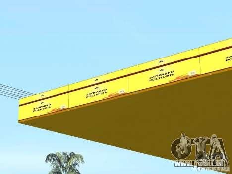 Nouvelles stations d'essence de textures pour GTA San Andreas sixième écran