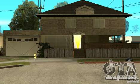CJ Total House Remode für GTA San Andreas