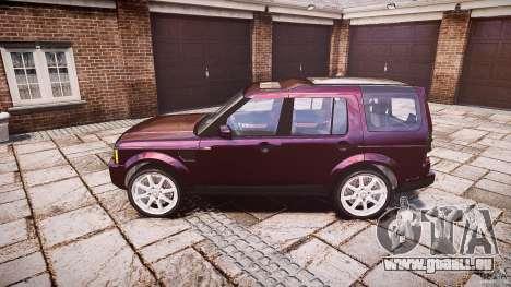 Land Rover Discovery 4 2011 pour GTA 4 est une gauche