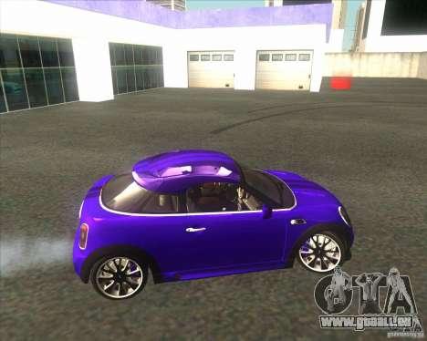 Mini Coupe 2011 Concept für GTA San Andreas