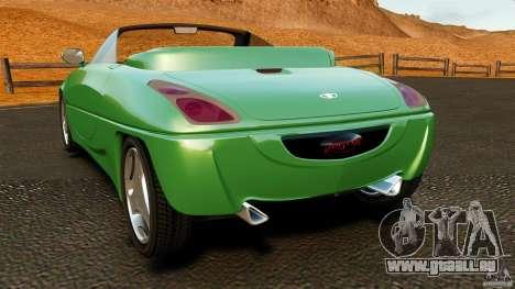 Daewoo Joyster Concept 1997 pour GTA 4 Vue arrière de la gauche