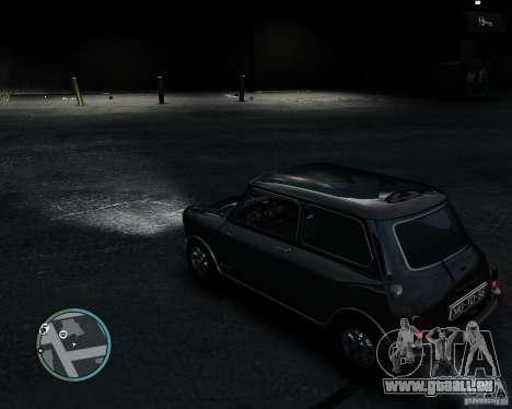 Austin Mini Cooper S für GTA 4 Rückansicht