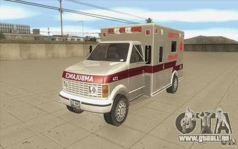 GTA3 HD Vehicles Tri-Pack III v.1.1 für GTA San Andreas Seitenansicht
