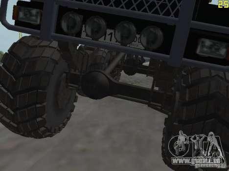 ZIL 497200 für GTA San Andreas Rückansicht